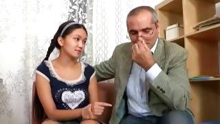 Teen porn where raunchy sweet girl seducing mature teacher