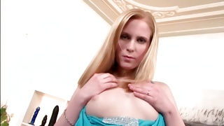 Topless raunchy spicy bitch is licking the finger on porn