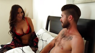Large tittied gorgeous bitch looks incredibly hot