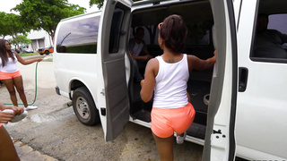 Church girls are easy to get on the Bang Bus